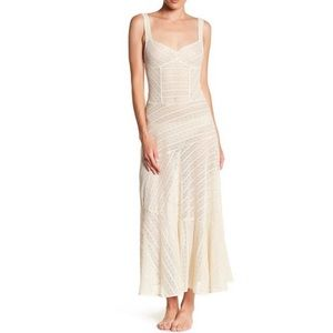 Free People Love Story Maxi Sheer Slip Dress Small